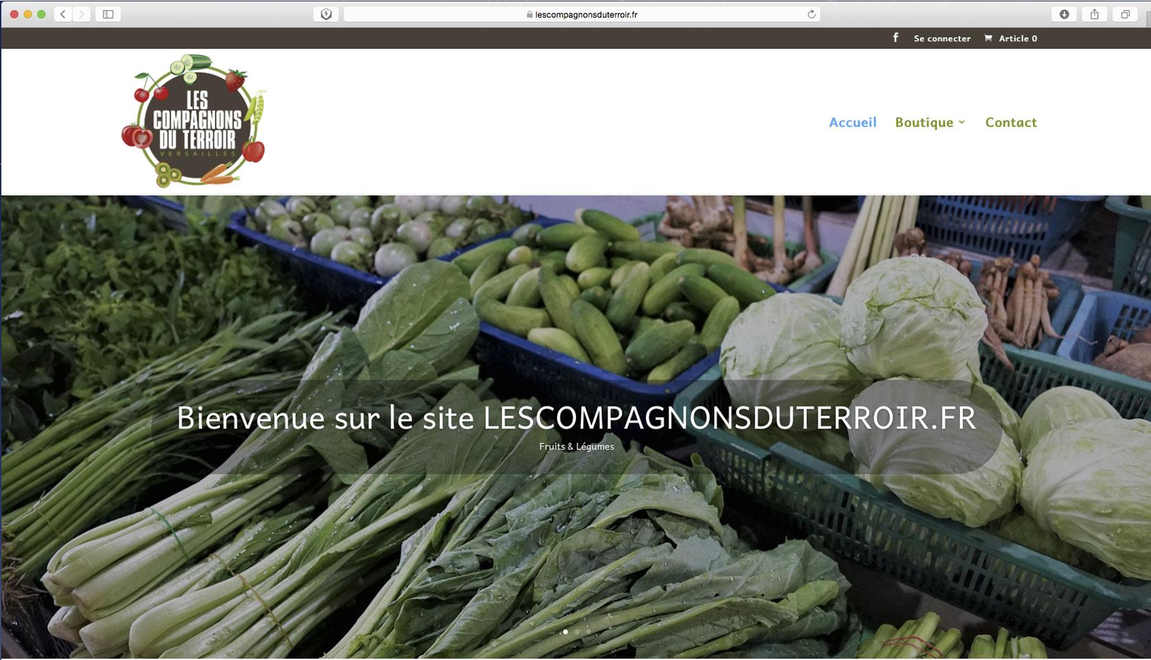 Visuel site lescompagnonsduterroir